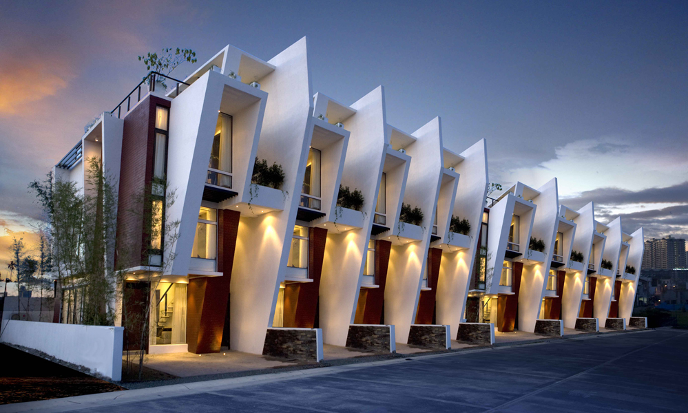 Filipino architecture buensalido architects for Townhouse architecture designs