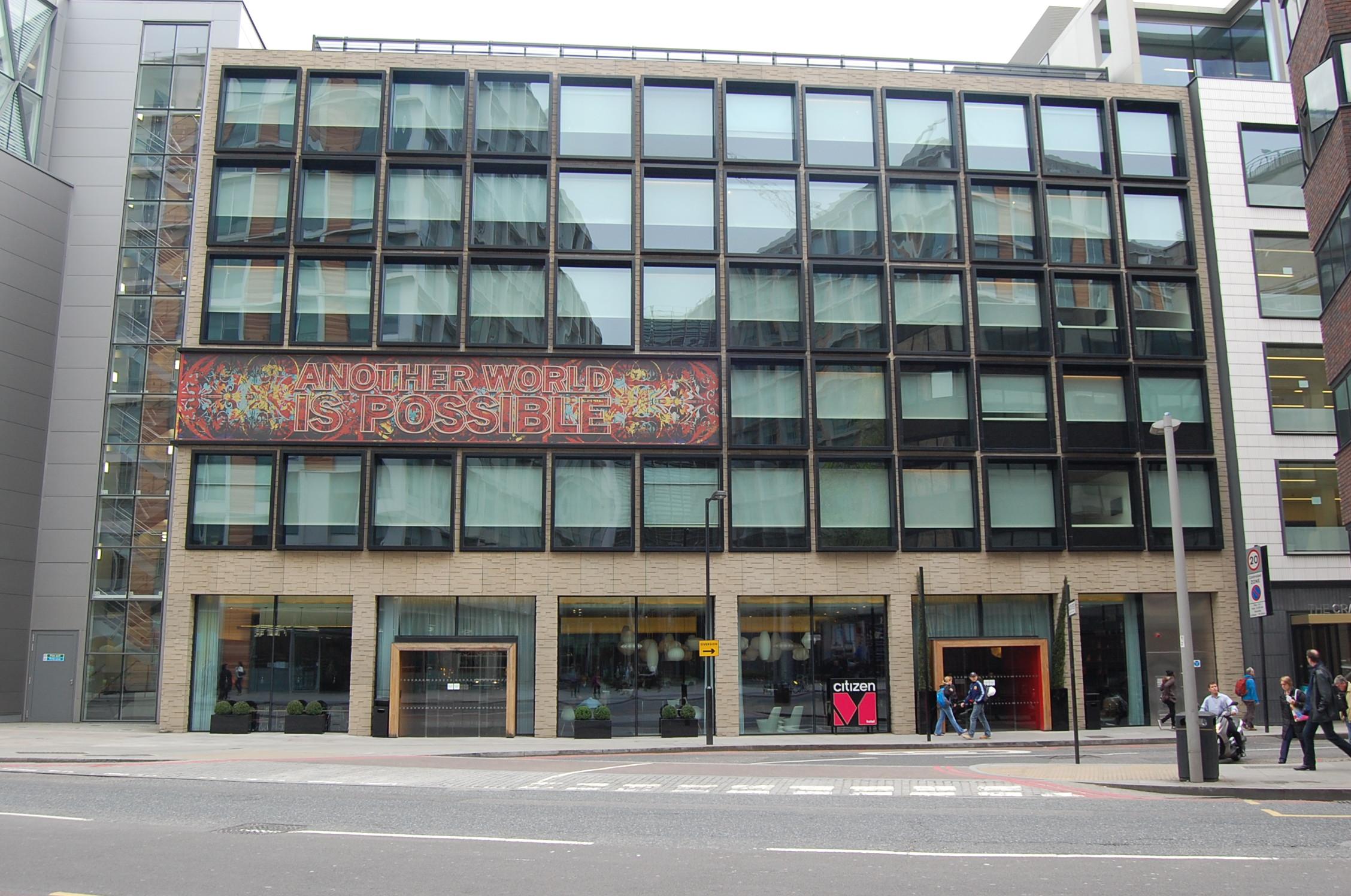 Citizenm Hotel Amsterdam Citizenm Citizen Mobile Buensalido Architects